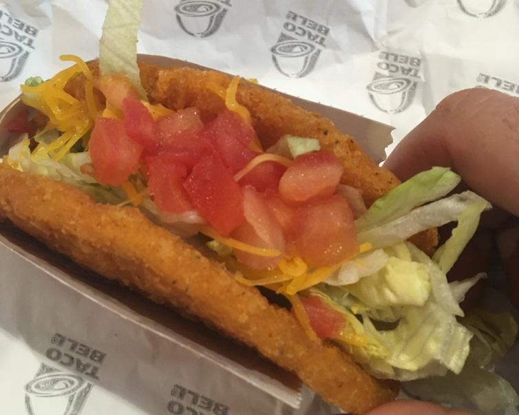 A sudden brilliant, creative, or timely chalupa