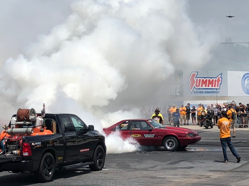 The burnout competition winner