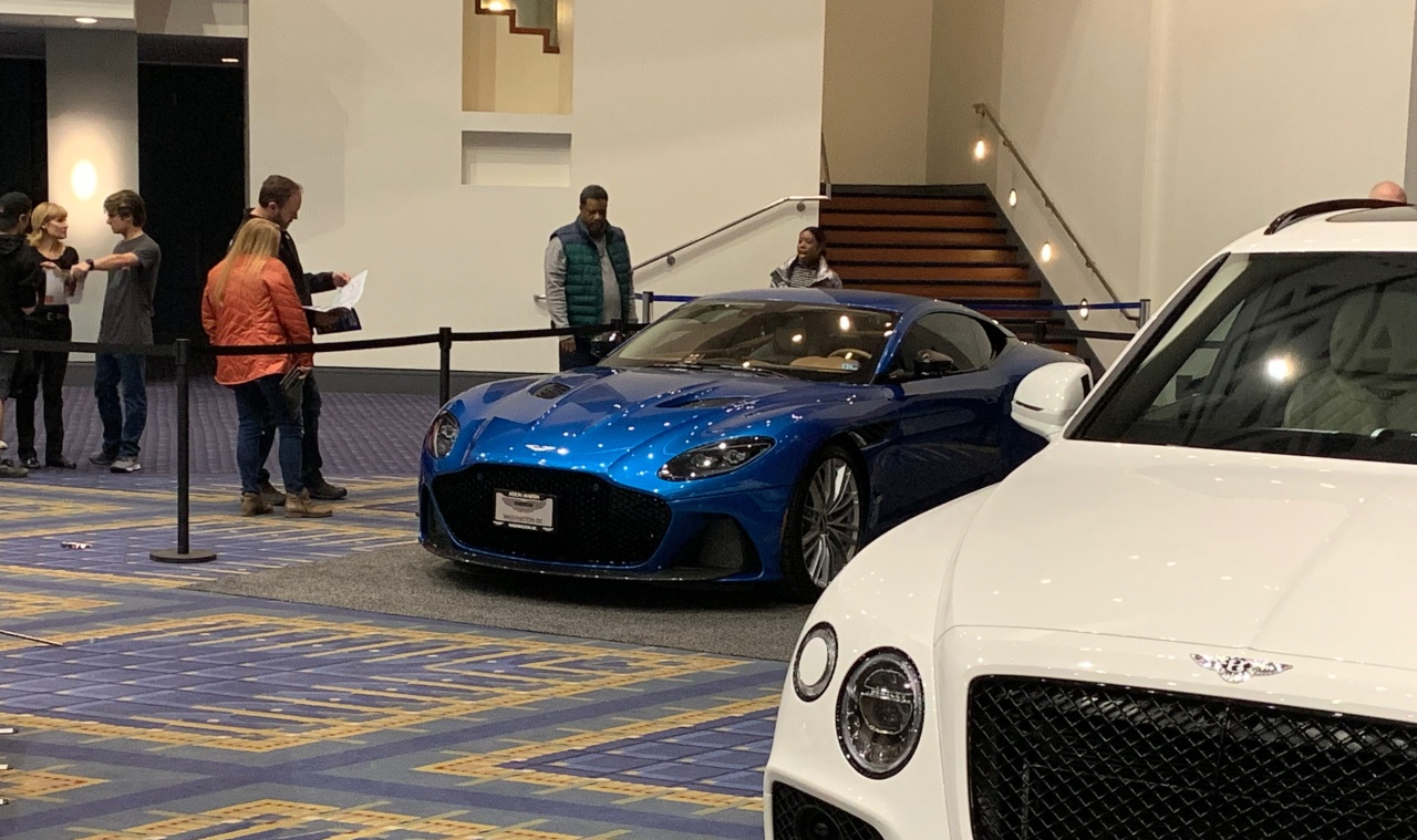 2020 Washington Auto Show Pt 2 – More Blue, New Exotics on Display